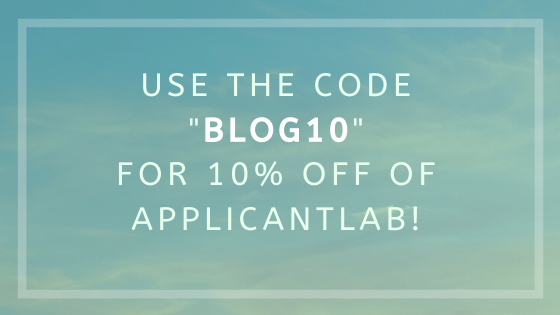 ApplicantLab Promo Discount Code BLOG10 for 10% off