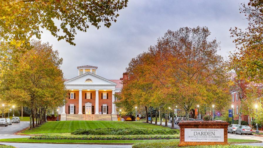 UVA Darden MBA Deadlines 2020 – 2021