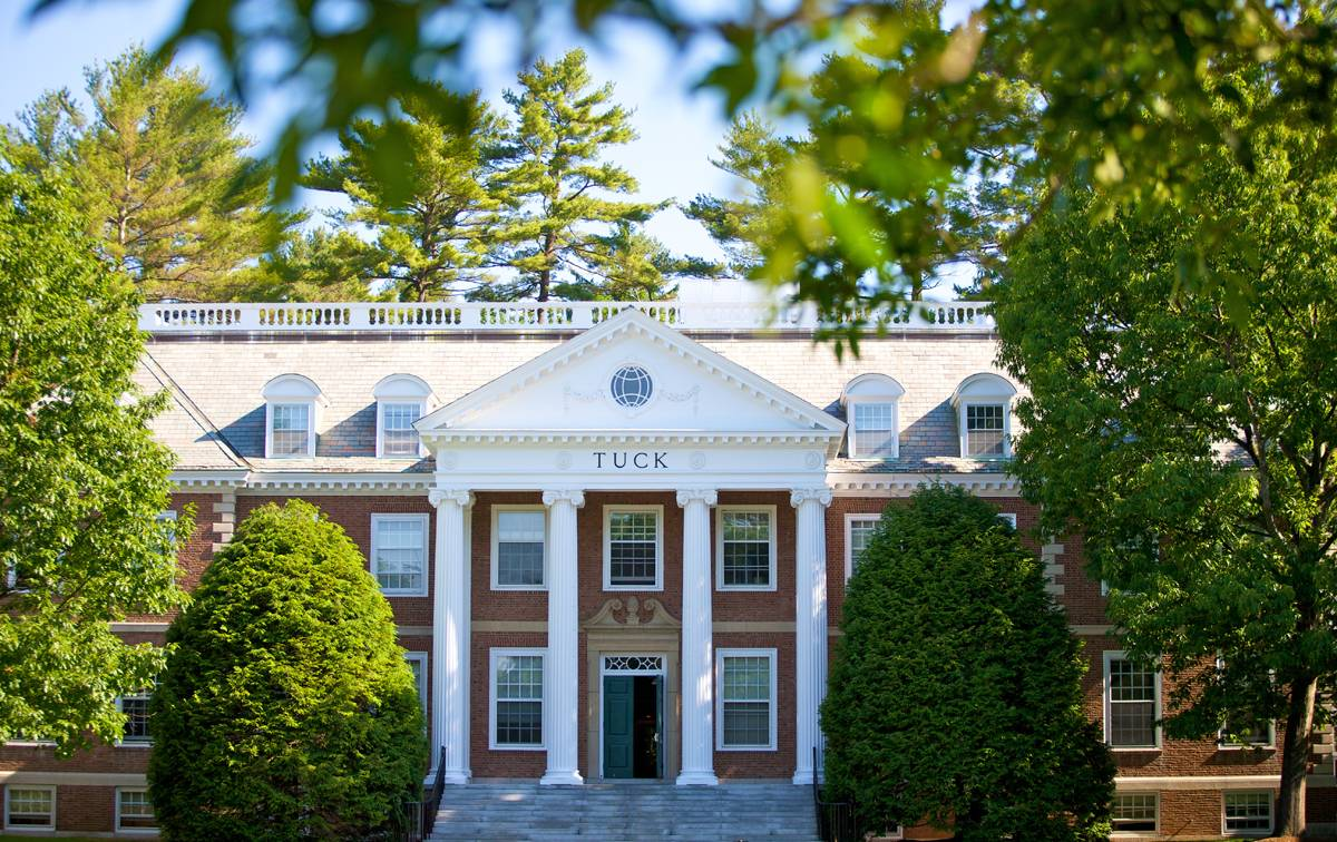 Dartmouth Tuck MBA Deadlines 2020 – 2021