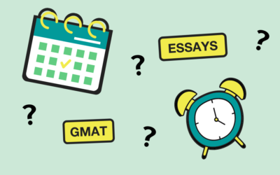 Can I Re-Take The GMAT And Write My MBA Essays At The Same Time?